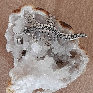Jewelry - Sterling silver lizard.